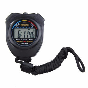 Digital Professional Handheld LCD Chronograph Sports Stopwatch