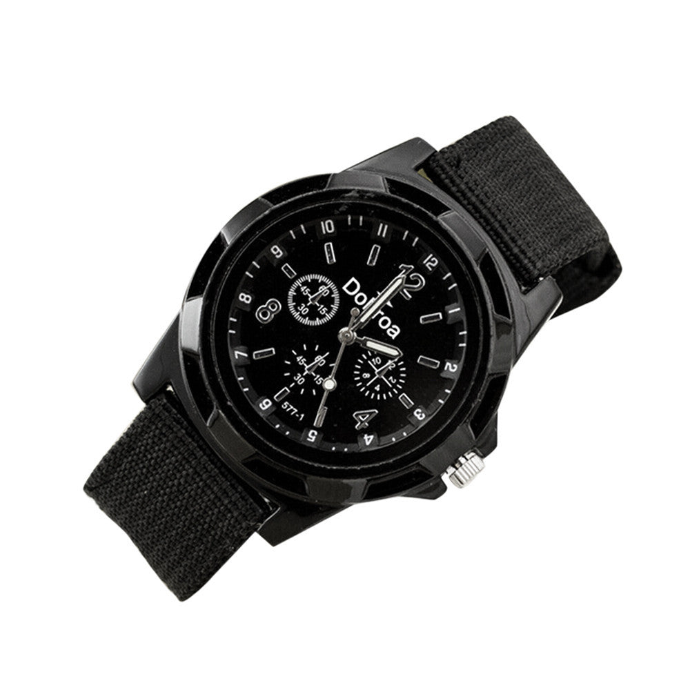 Military Canvas Belt Watch - Impact Performance Club