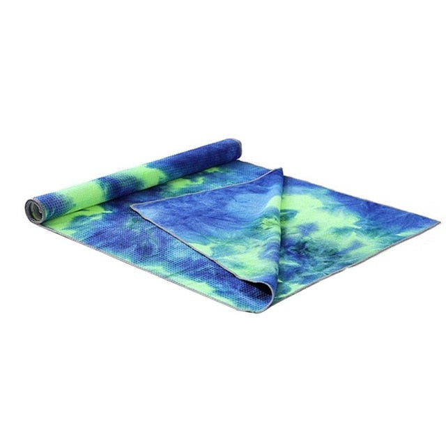 Tie Die Yoga Fitness Mat - Impact Performance Club