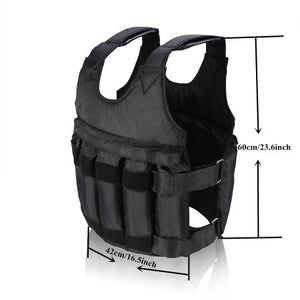 New 2019 Adjustable Weighted Exercise Workout Vest