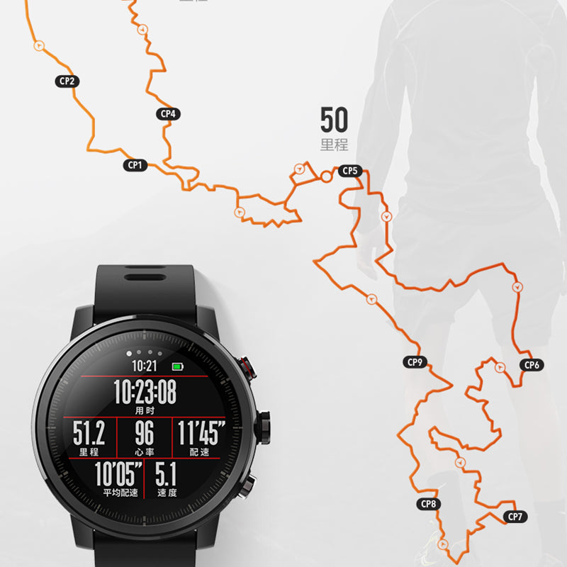 Smart GPS Sports Fitness Watch - Impact Performance Club