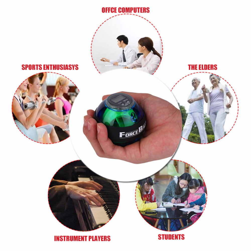 New Gyroscope Force Exercise Wrist Forearm Ball