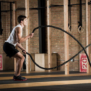 Sports Strength Training Battle Ropes