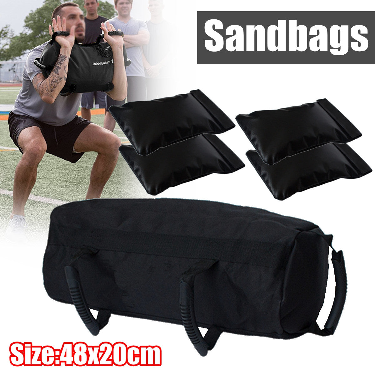 Heavy Duty Sports Training Sandbag - Impact Performance Club