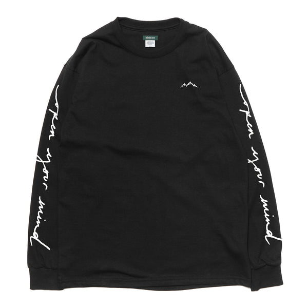 OPEN YOUR MIND L/S T-SHIRT