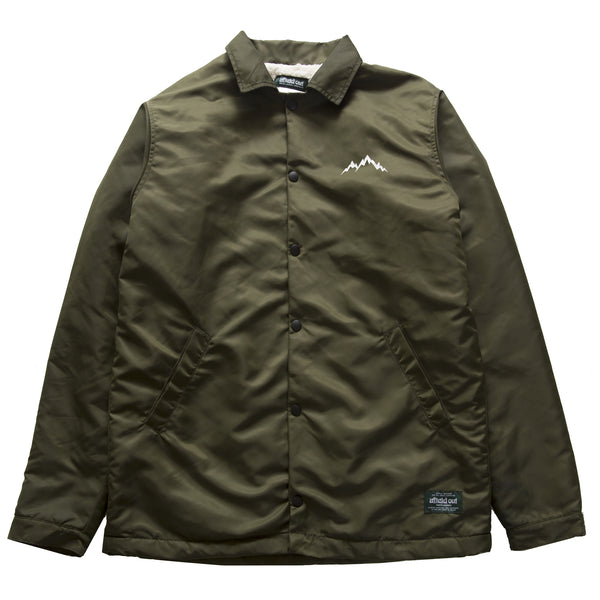 REDWOOD PILE FLEECE COACH JACKET