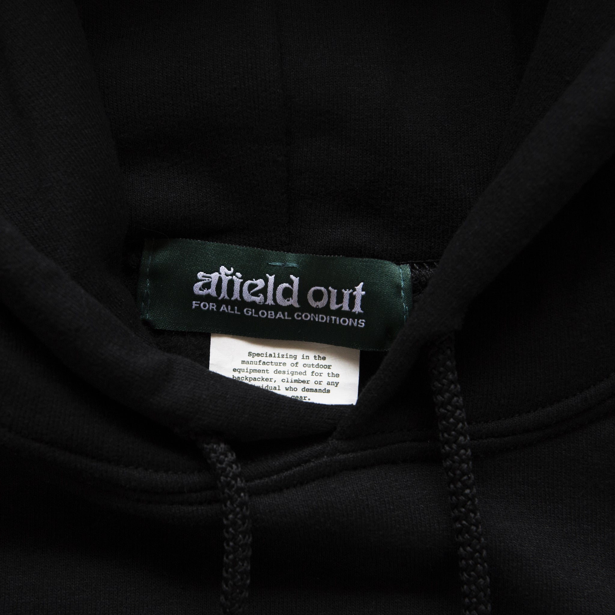 OUTSIDER PULLOVER HOODIE