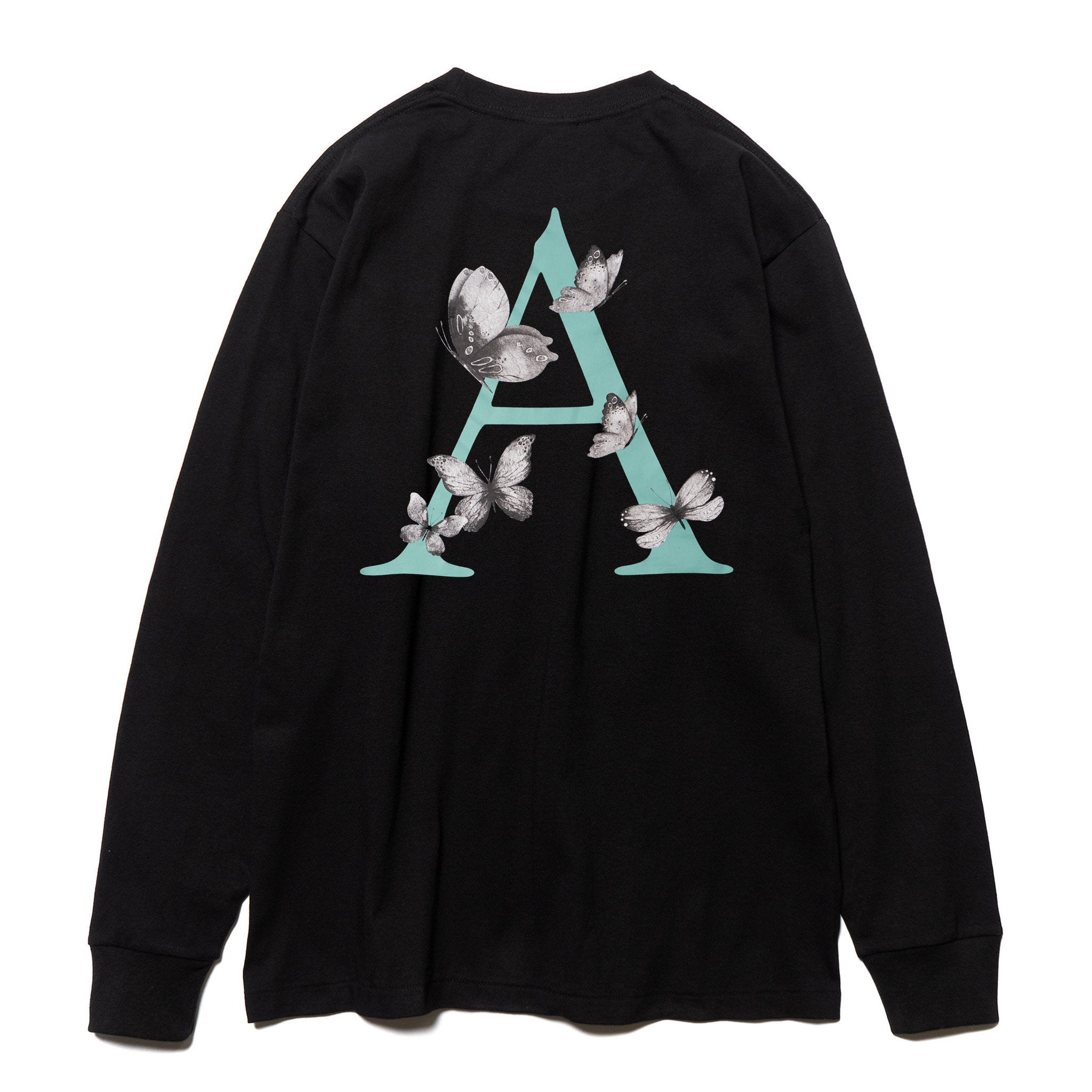 Black Flutter L/S T-Shirt