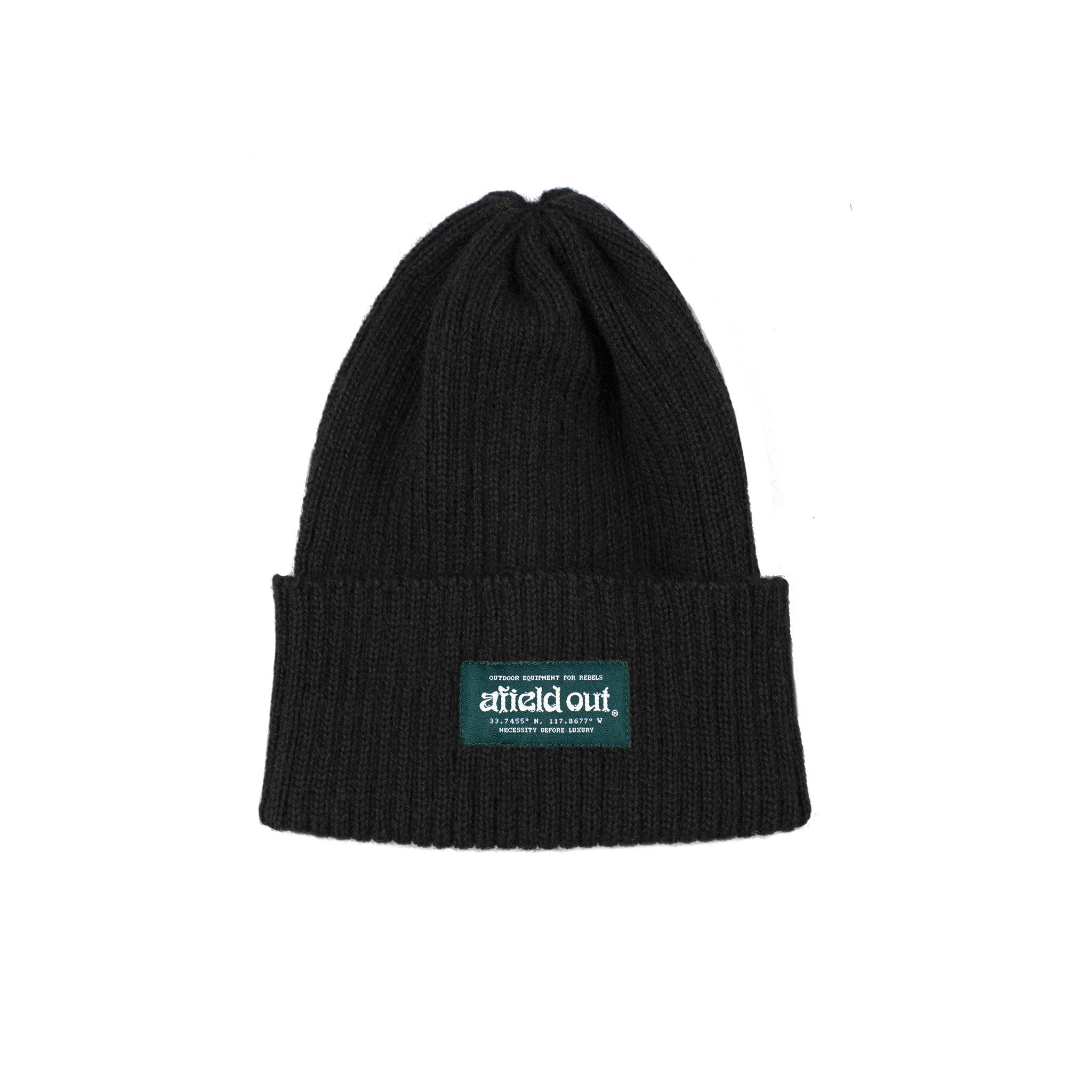 Black Type IV Watch Cap