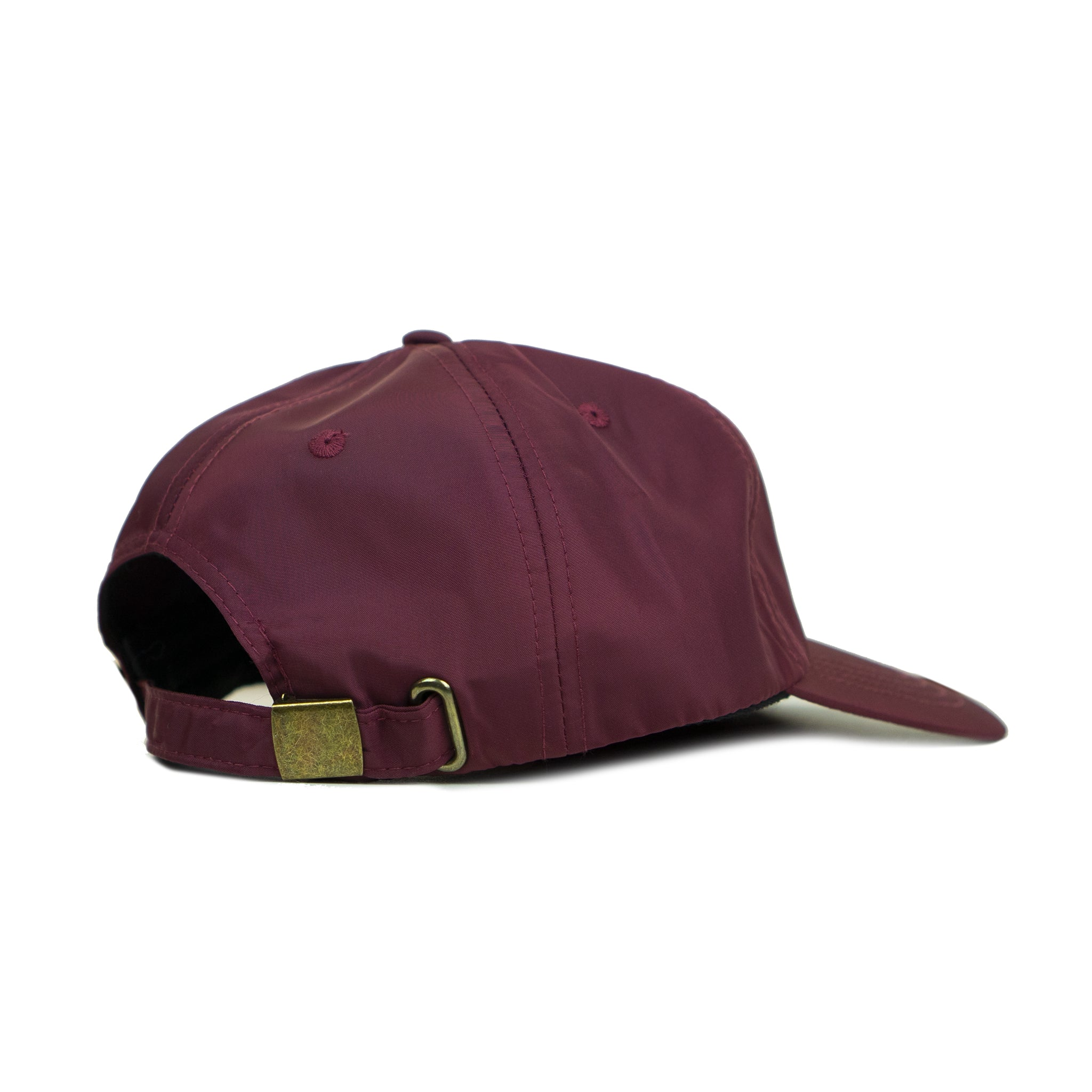 Burgundy Tonal Wordmark Cap
