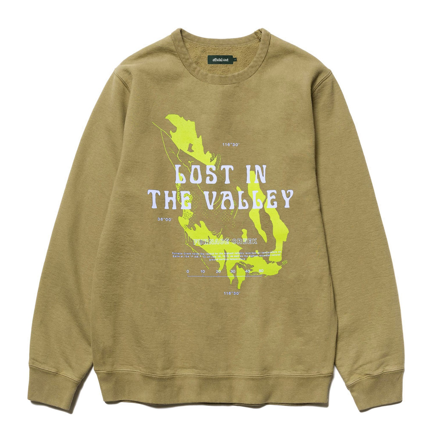 Sand Furnace Creek Crewneck
