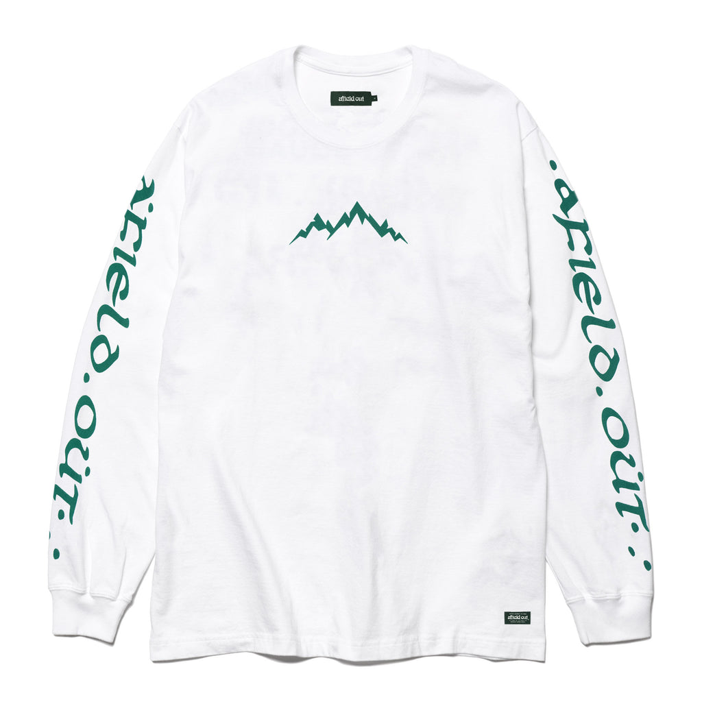 White Descend L/S T-Shirt
