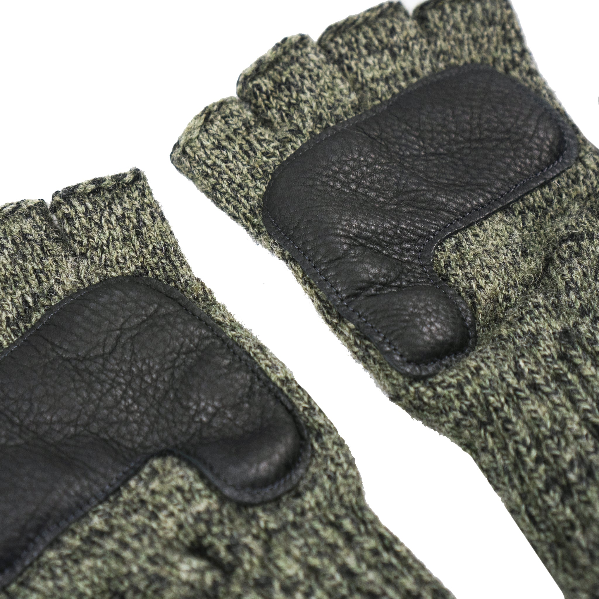 Olive Fingerless Trail Gloves