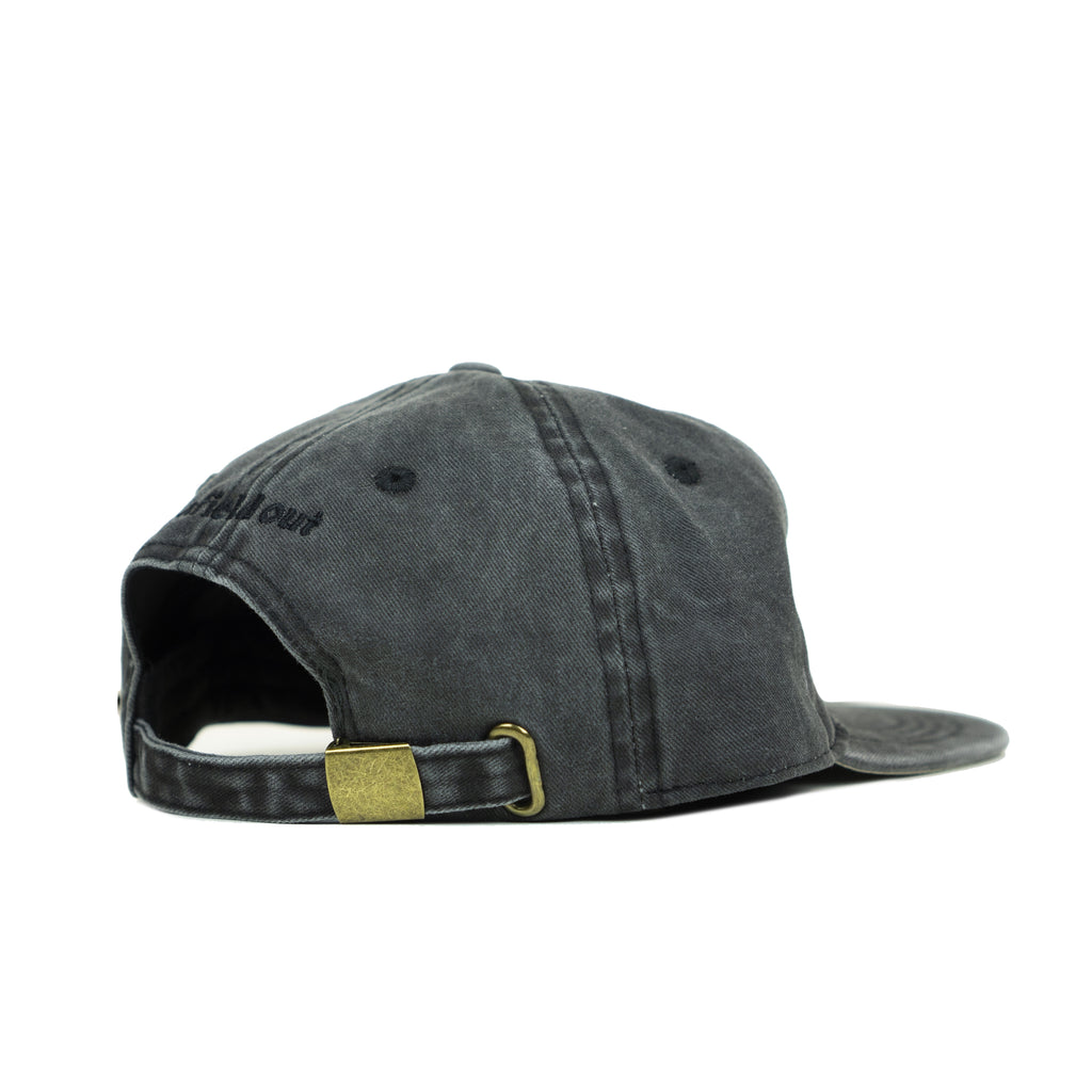 Black Chaos Foldable Hat