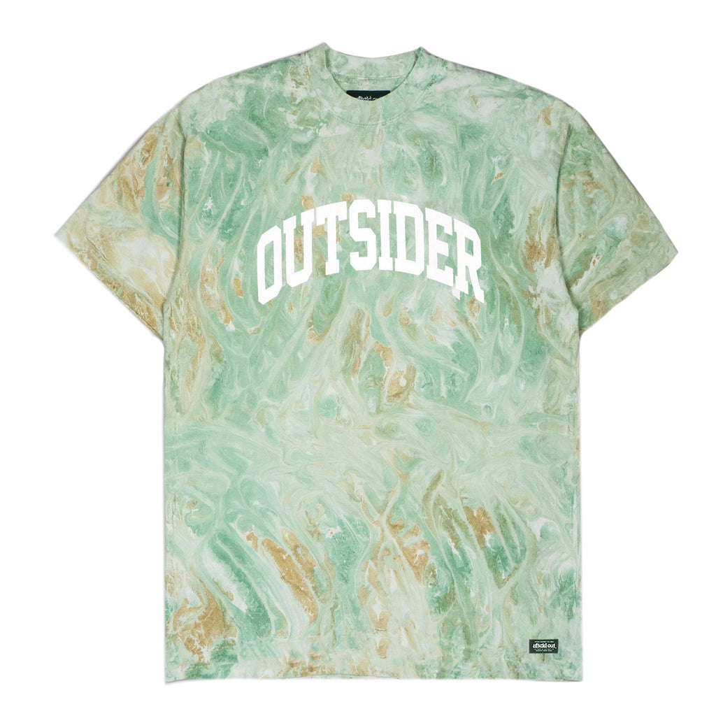 Green Marble Outsider T-Shirt