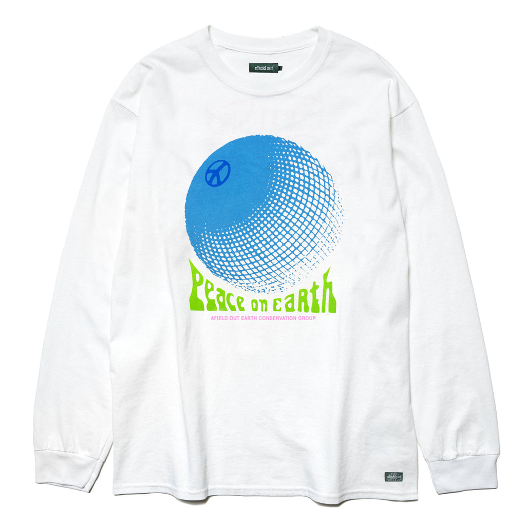 White Peace L/S T-Shirt