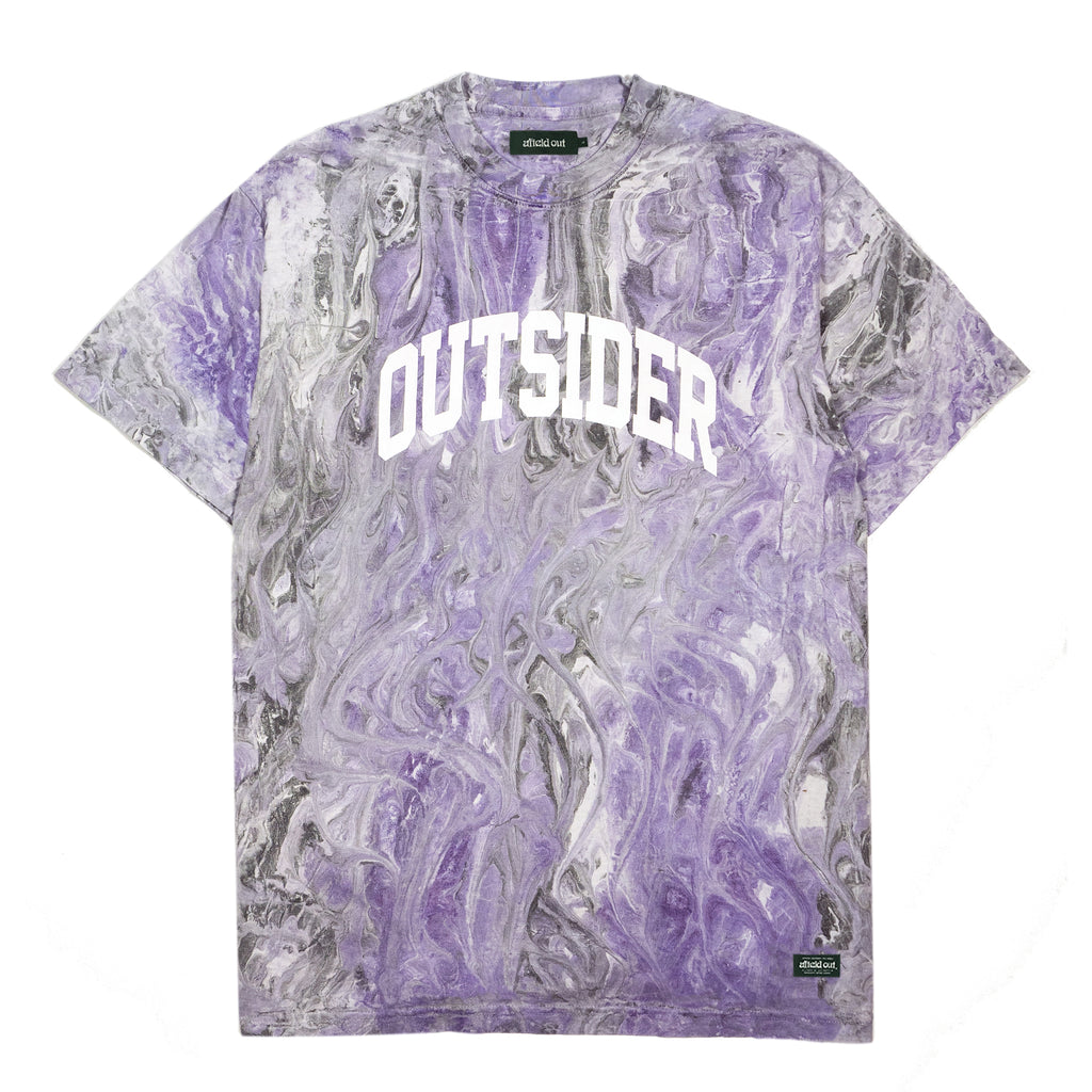 Purple Marble Outsider T-Shirt