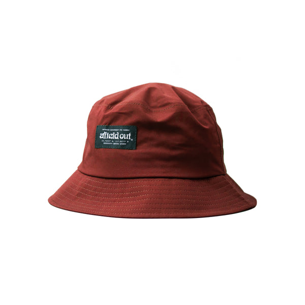 Red Darby Bucket Hat