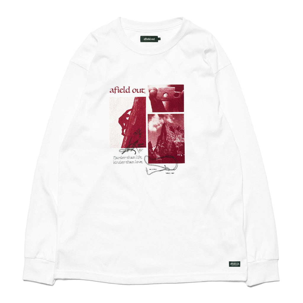 White Crimp L/S T-Shirt