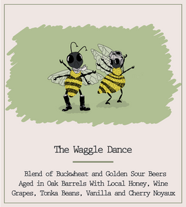 The Waggle Dance 2020 Free Club Bottle