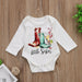 Tiny Boots Little Sister Big Sister Romper + T Shirt