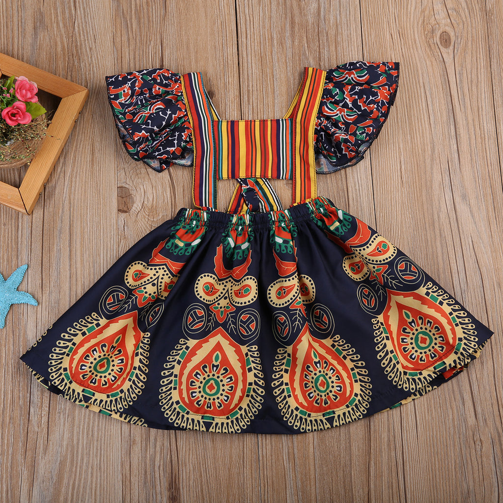 Maya Boho Backless Dress