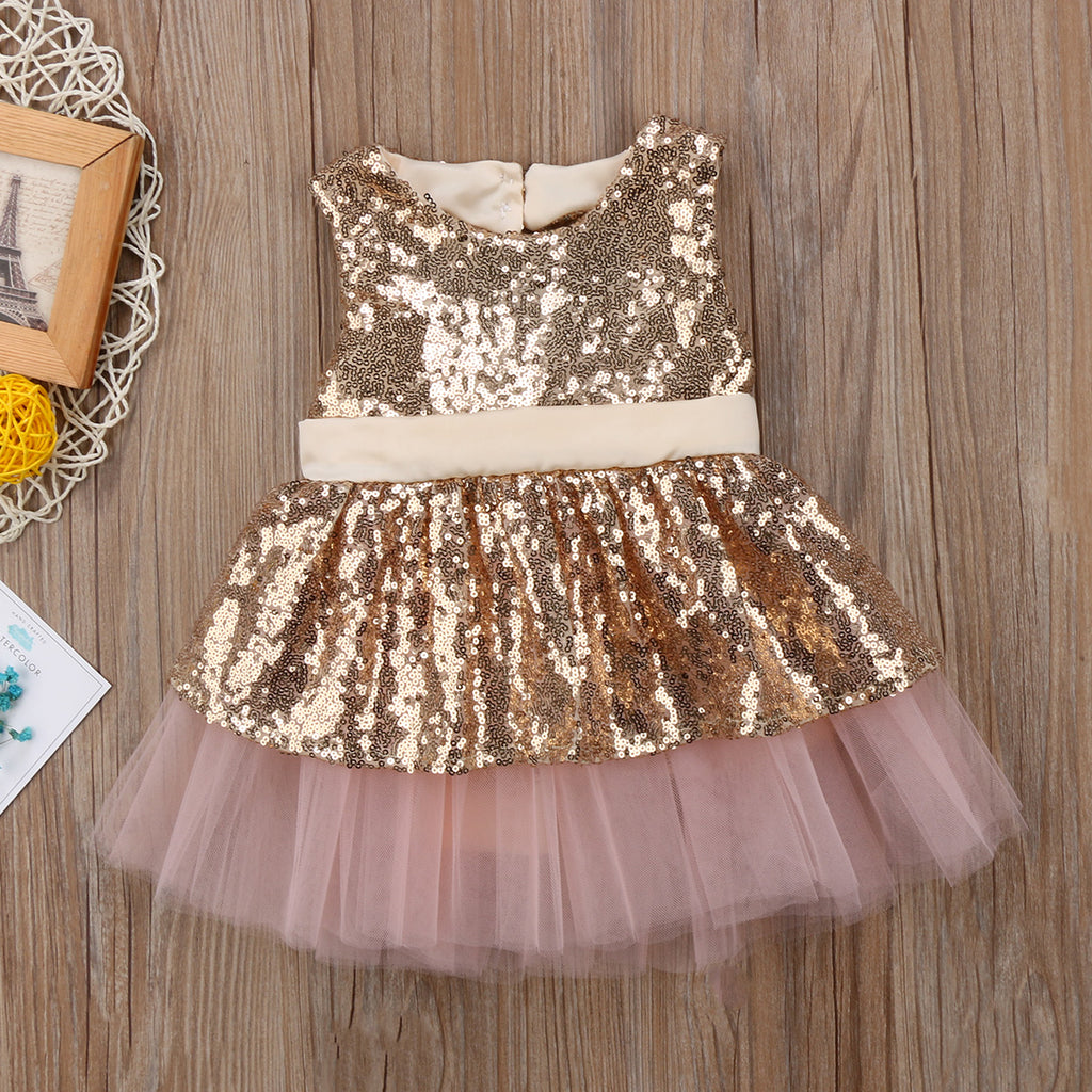 Gigi Sequin Party Dress