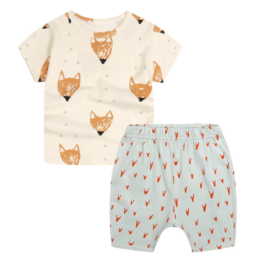 Fox 2pc Outfit Set