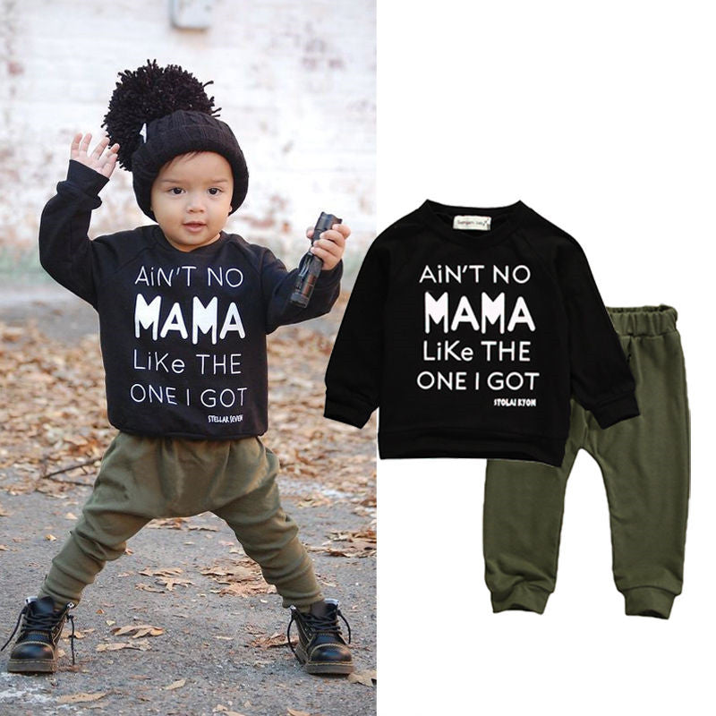 Ain't No Mama Sweater & Pants