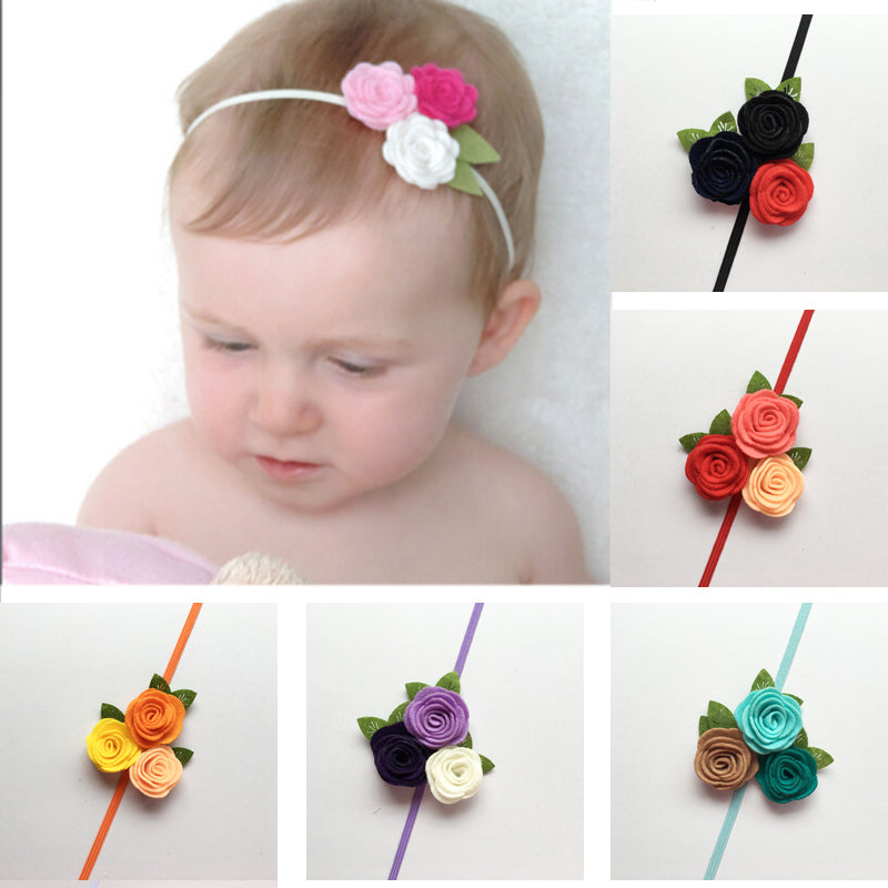 Fern Felt Flower Headband