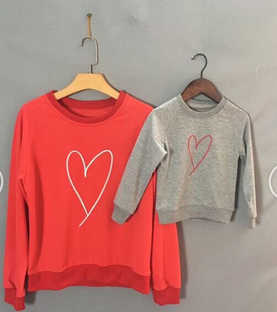 Love Mommy & Me Sweatshirt