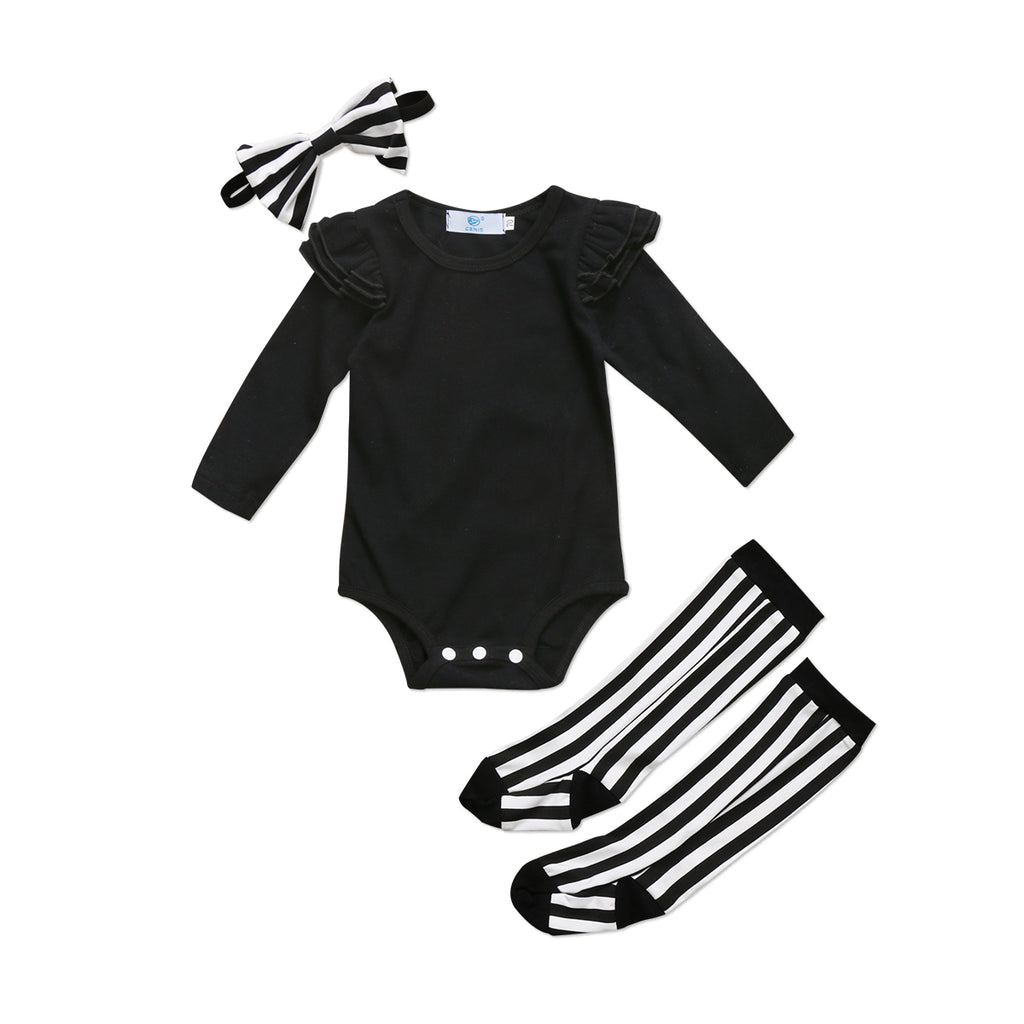 Sally Romper & Socks Outfit