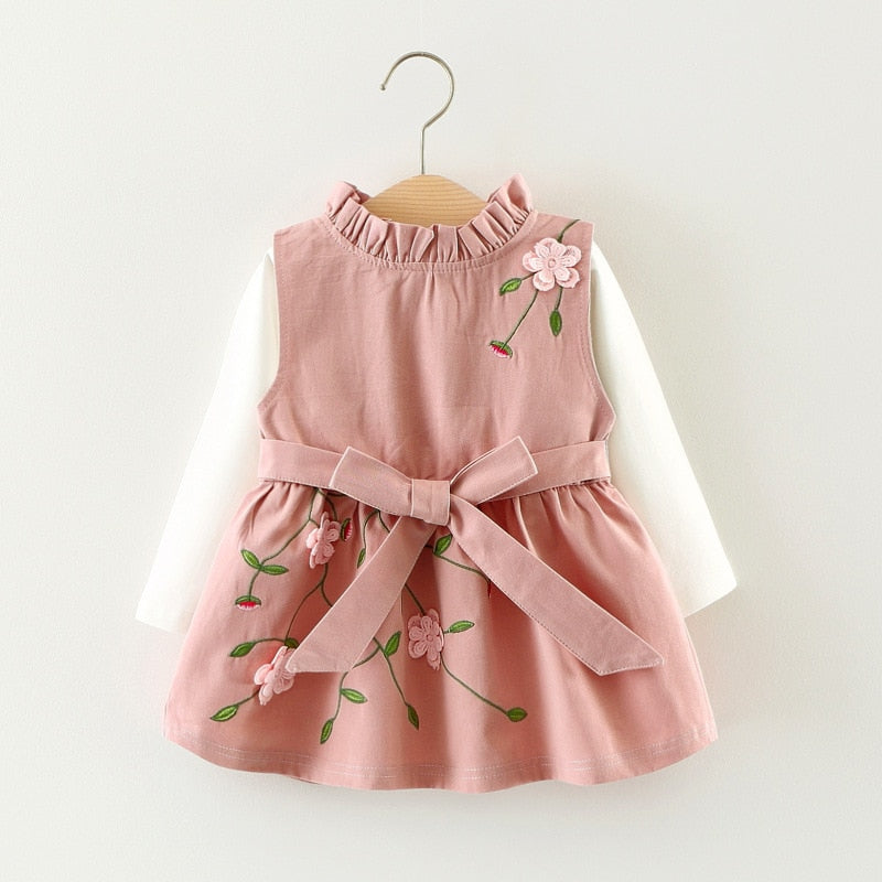 Avery Pink 2-Pc Dress