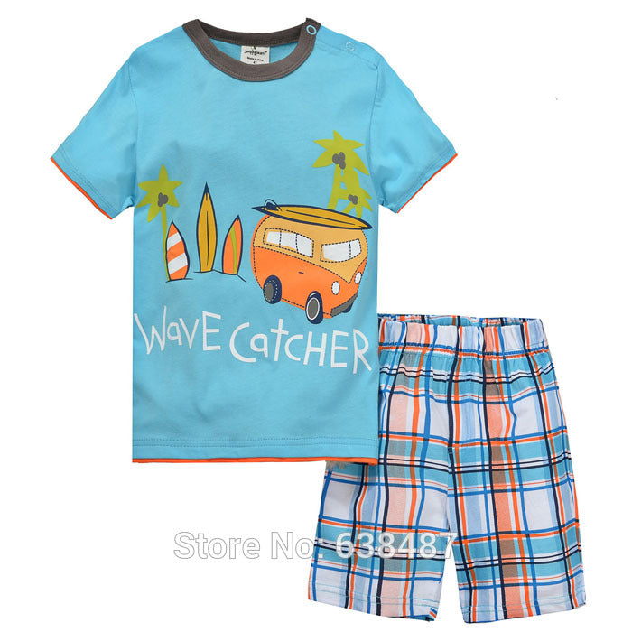 Summer Short Sleeve Outfit Sets