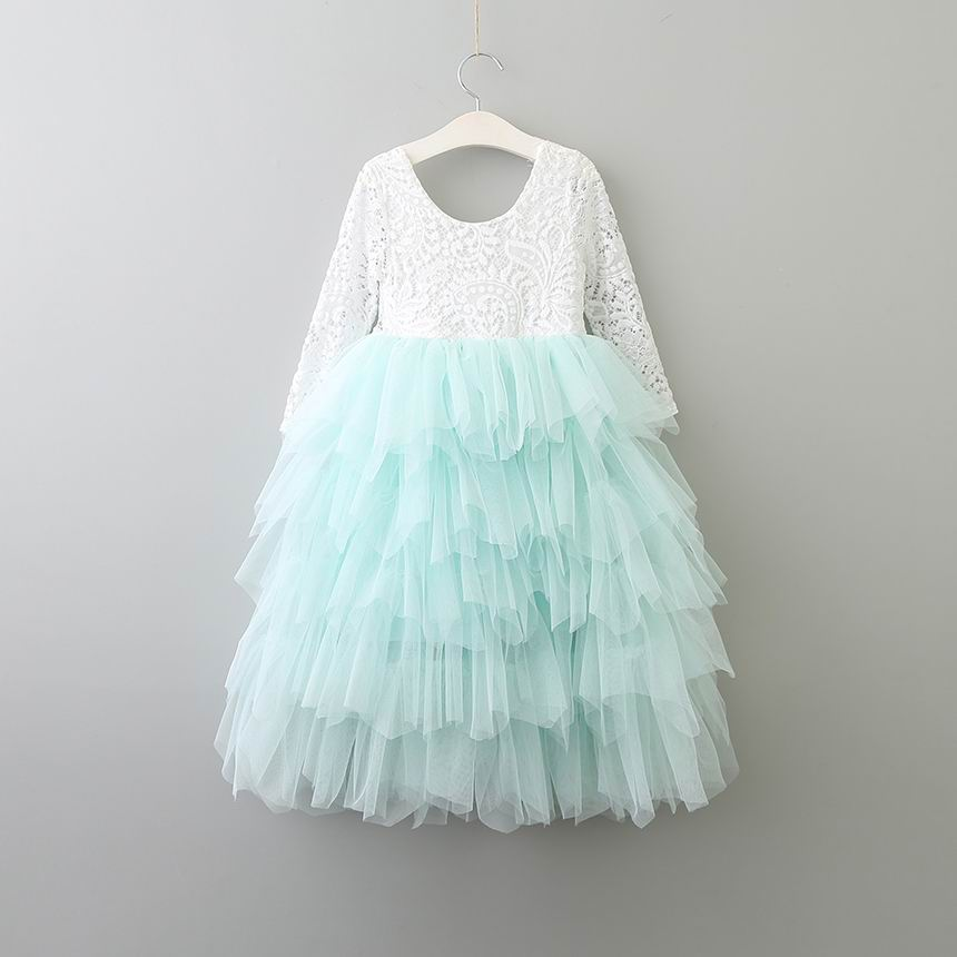 Tiered Tulle Maxi Dress