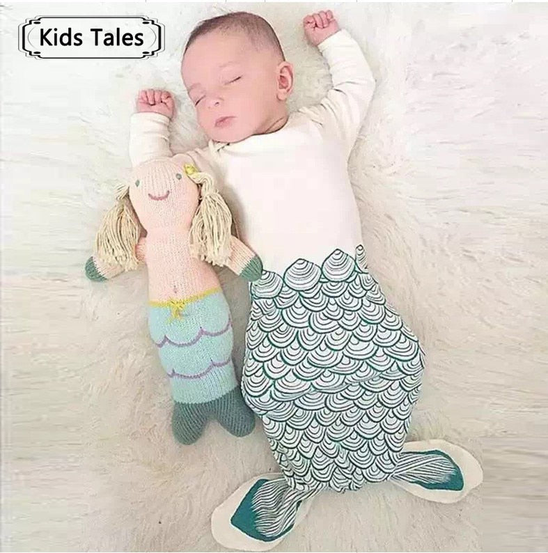 Newborn Sleepwear in Cute Mermaid, Penguin and bear Styles