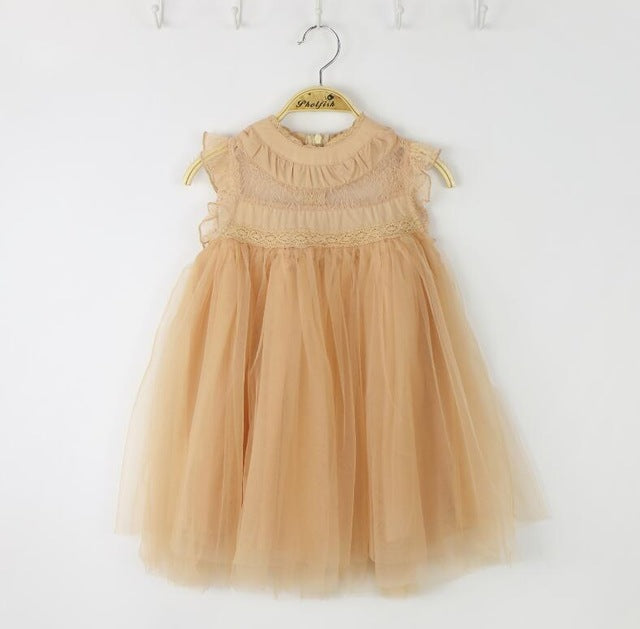 Embry Lace & Tulle Dress