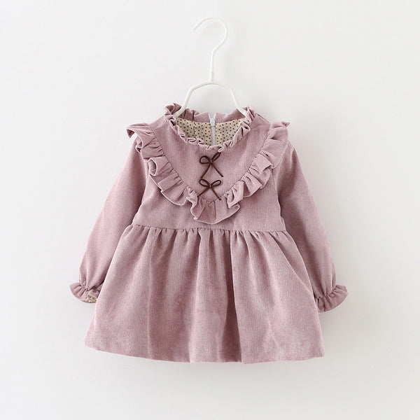 Lillian  Ruffle Collar Dress