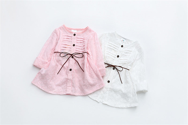 Cassie Spring Lace Princess Blouse