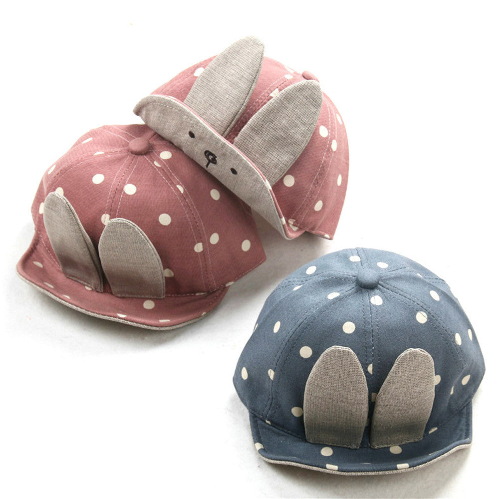 Rabbit Ears Baby Cap
