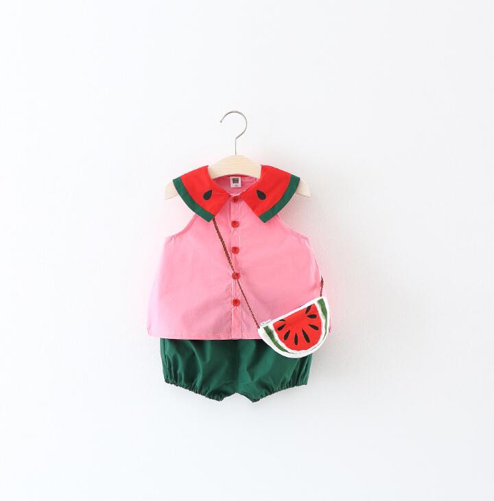 Mini Melon Romper