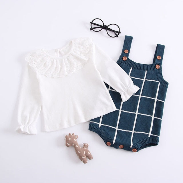 Emie Checked Outfit Set