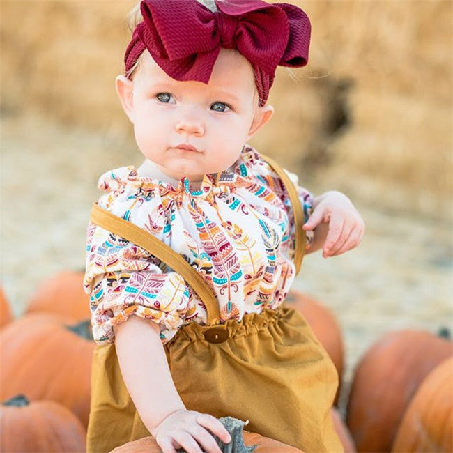 Scarlett Overalls and Fall Set