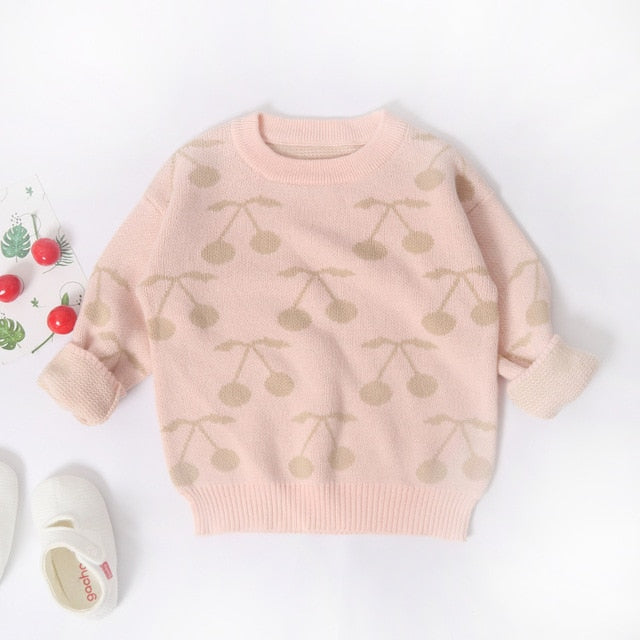 Fiona Cherry Sweater