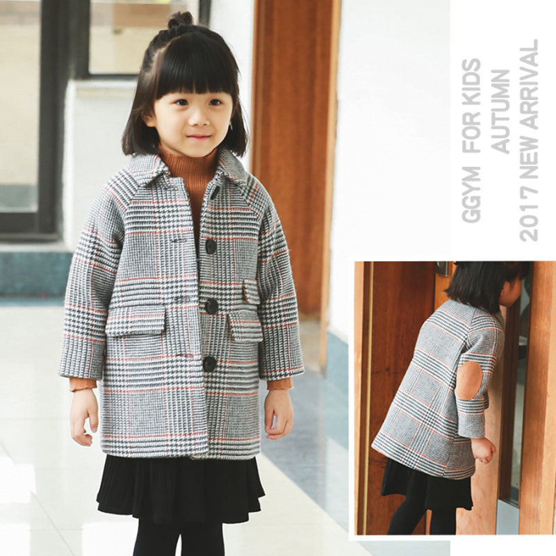 Serena Plaid Coat