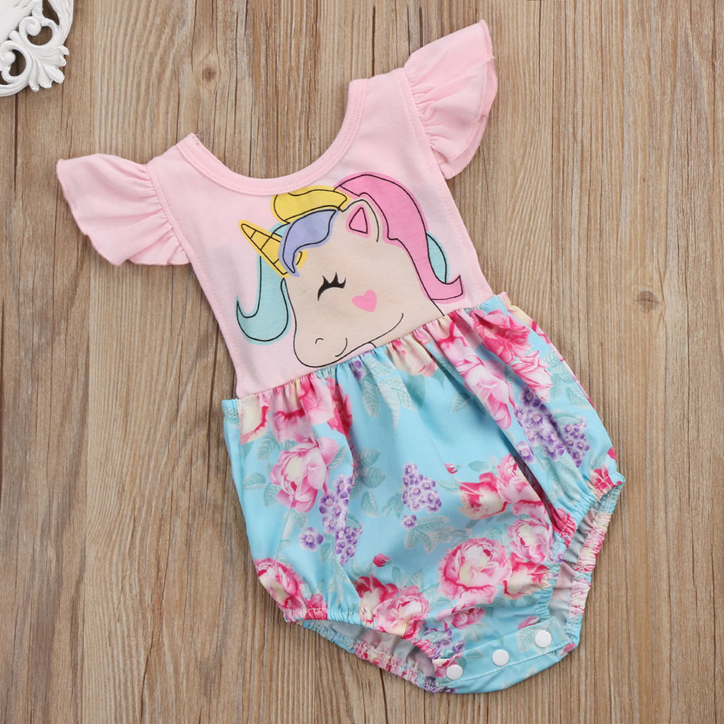 Ainsley Unicorn Romper