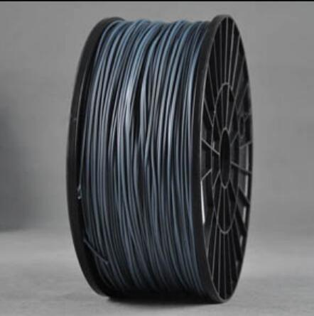 ABS Gray Blue 3d Printer filament 1.75 mm plastic spool 1 kg