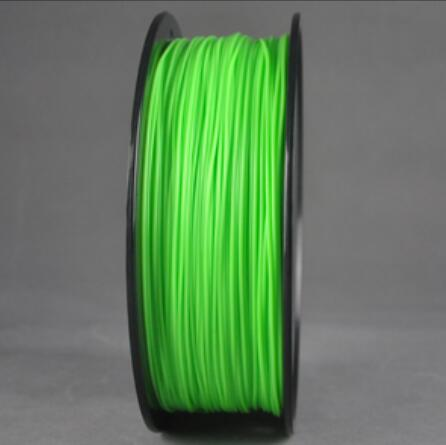 ABS Light Green 3d Printer filament 1.75 mm plastic spool 1 kg