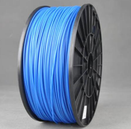 ABS Luminous Blue 3d Printer filament 1.75 mm plastic spool 1 kg