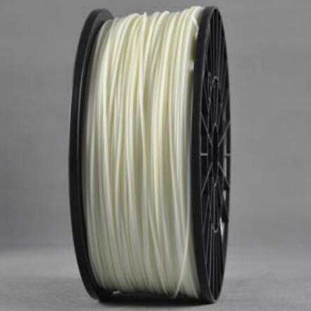 ABS Luminous White 3d Printer filament 1.75 mm plastic spool 1 kg